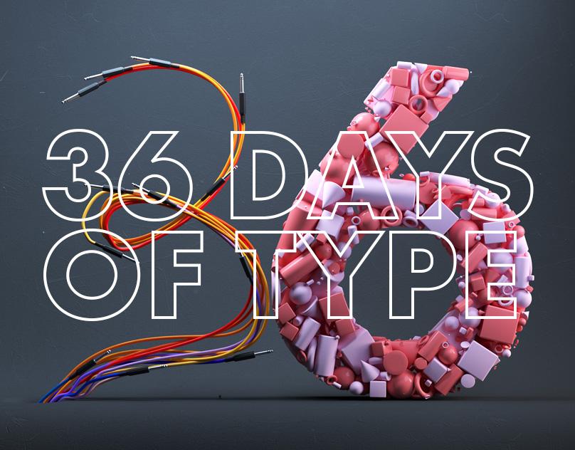 36 Days of Type: 2019